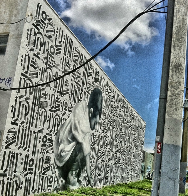 More murals like this one could be popping up soon in downtown. Courtesy of Miamism