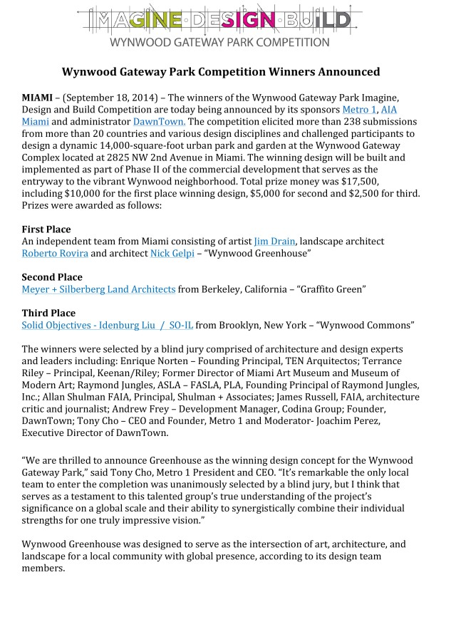 Microsoft Word - WGPCompetition_Winner Press Release_Final_9.18.